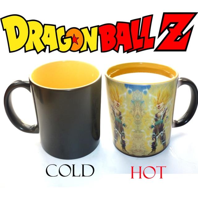 Anime Dragon Ball Z Super Saiyan Trasformazione Disegno Tazza Di