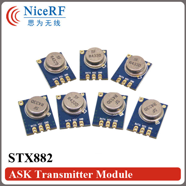 20бр / лот STX882 433MHz Superheterodyne ASK Безжичен модул