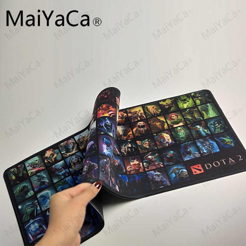MaiYaCa 2018 ใหม่การออกแบบที่เรียบง่ายความเร็ว DOTA 2 เกม MousePads เมาส์เล่นเม้าส์เล่นเสื่อรุ่นแผ่นรองเมาส์