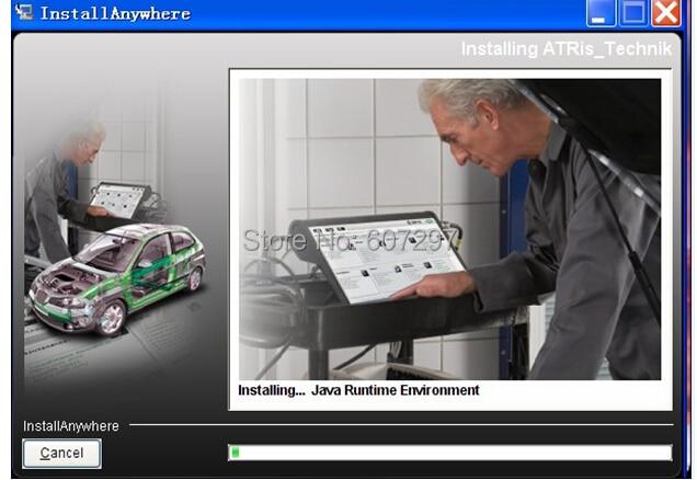 2017 New Arrival No Need Install Automotive Vivid Workshop DATA ( (Atris-Technik) Europe Repair Software+Atris Parts Catalog