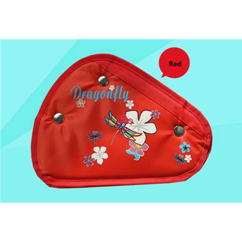 어린이 자동차 안전 벨트 조절기 어린이 벨트 안전 적합한 두꺼운 자동차 안전 벨트 조절기 장치 아기 시트 벨트 커버 보호대