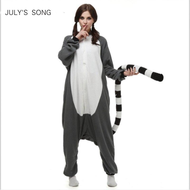 2019 New Adults Unicorn   Pajamas     Sets   Flannel Animal   Pajamas   Cartoon Sleepwear Cosplay Zipper Women Men Winter Unisex Nightwear