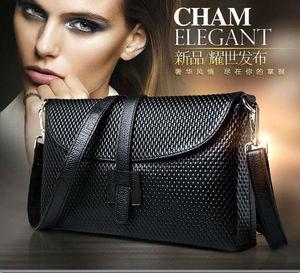 Image 4 - 2019 Classic Shoulder Bag Women Genuine Leather  Crossbody Bag Real Leather Saddle Messenger Cover Bag free shipping