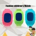 Q50 crianças dos miúdos dupla localização gps smart watch inofensivo de emergência sos alerta mtk 3337 gps anti-perdido smart watch