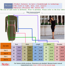 Plus Size Women Fashion Ladies Summer Casual Long Sleeve Slim Dress Bodycon Female Dresses Work Dress Party Dress Vestidos
