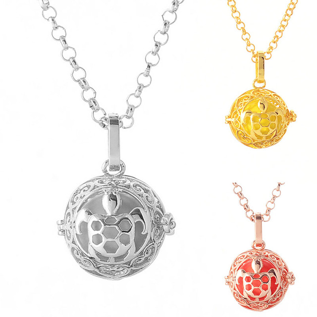 Pregnancy Necklace wish box Mexican Bola 16mm Harmony Ball fashion