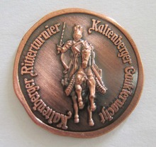 Customized New Copper Coin Fashion Personality 3D Metal