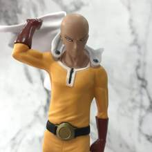 7.69Inches ONE PUNCH MAN Tsume Saitama PVC DXF Japanese Anime Action Figure Model Collection Statue ONE PUNCH Super MAN M144(China)