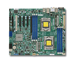 OEM X9DAL-I 1356 Pin C602 Chip Dual Workstation Motherboard Support E5-2400
