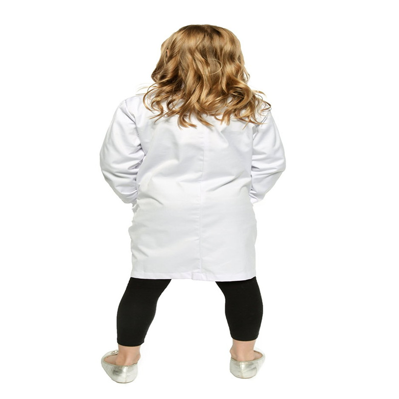 Takerlama Kids Lab Coat by Working Class Durable Lab Coats for Kid Scientists or Doctors Cosplay Customs