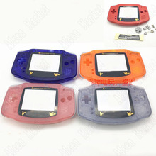 5sets New Transparen Game Shell Cover For Nintendo GBA Game Shell
