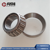 HM88542 / HM88510 Bearing ABEC-1 ( 1 PC ) 31.75x73.025x29.37 mm TS Cone + Cup Single-row Tapered Roller HM 88542 / 510 Bearings