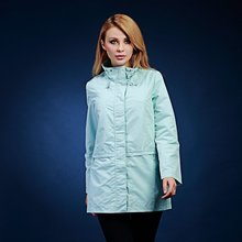 spring and autumn fashion women's medium-long loose stand collar outerwear long-sleeve trench solid color casual V309