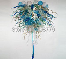Free Shipping New Arrival Special Murano Glass Hanging LED Chandelier