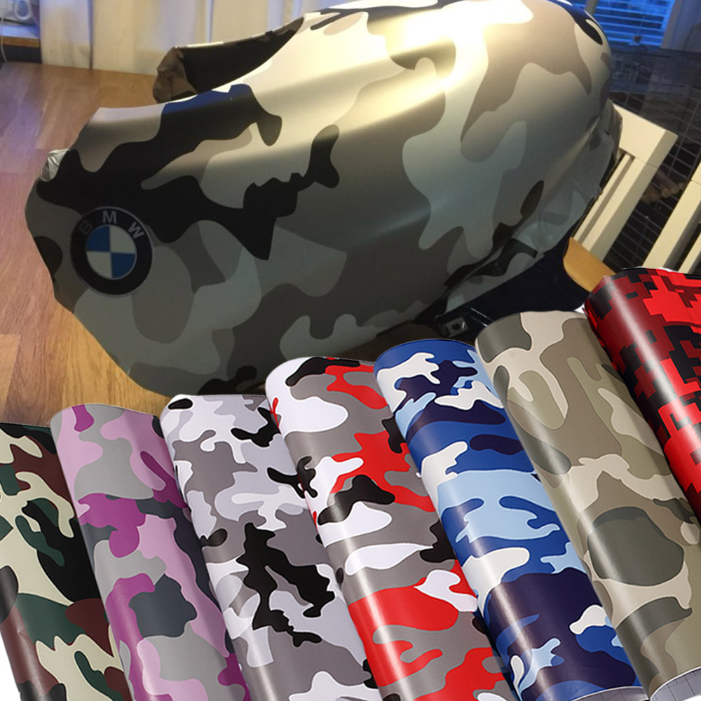 Car styling desert arctic woodland snow camo vinyl film scooter motorcycle adhesive sticker film digital camouflage
