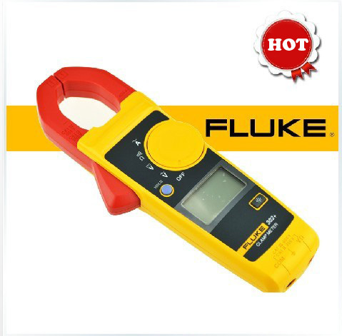 Fluke 302+ Digital Clamp Meter AC DC Multimeter Tester Current meter Fluke302+ fluke f302 1 6 lcd ac clamp meter yellow red 3 x aaa