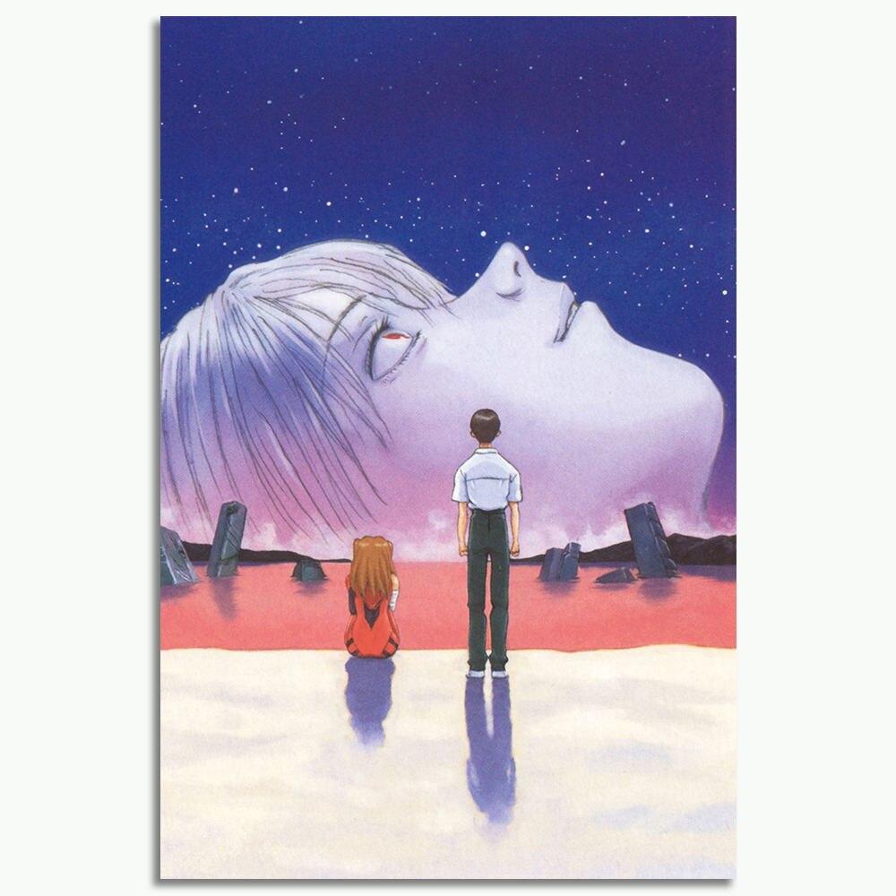 NEON GENESIS EVANGELION END OF EVANGELION Art Silk Poster 12x18 24x36