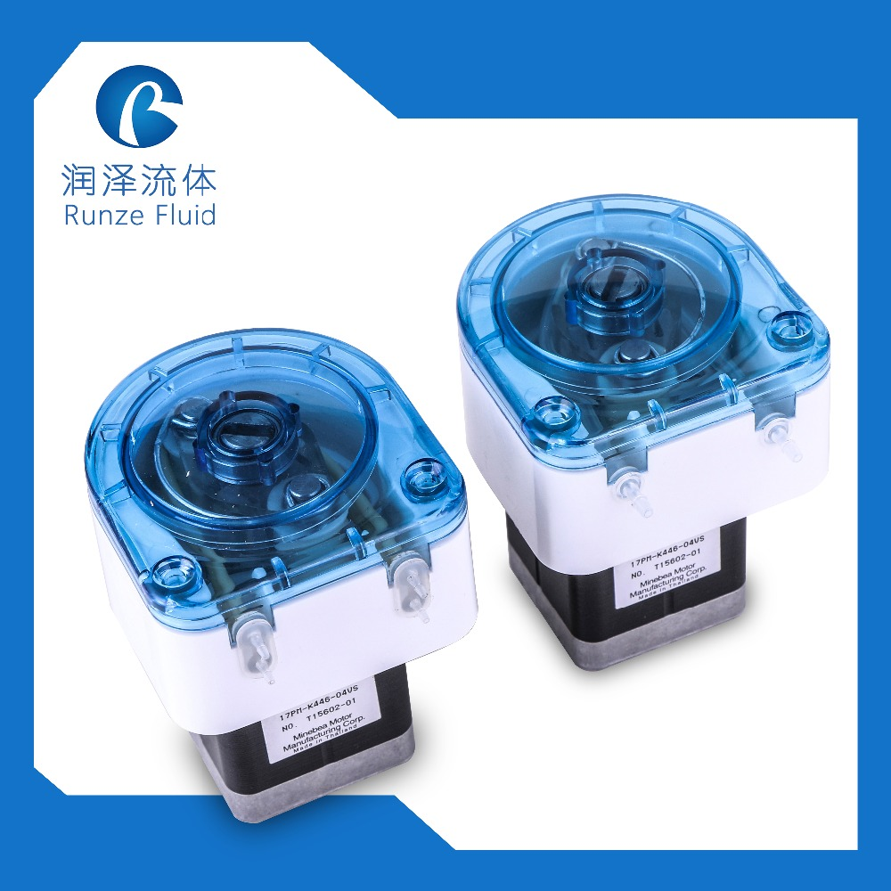 ABS Rollers Anti Corrosive Small Peristlatic Pump With Step MotorABS Rollers Anti Corrosive Small Peristlatic Pump With Step Motor