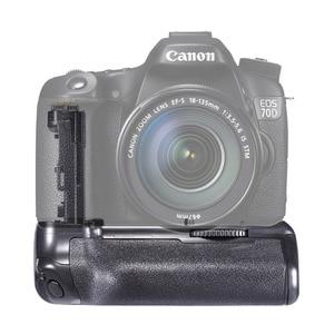 Image 2 - JINTU Battery Grip Power for Canon EOS 70D 80D DSLR Camera  +2pcs Recharge LP E6 Battery kit replacement BG E14
