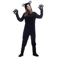 여성 동물 결합 된 코스프레 의상 할로윈 의상 고양이 왜냐하면 판타
