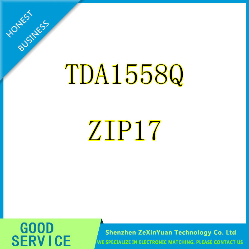 10PCS/LOT TDA1558Q TDA1558 1558Q AMP AUDIO PWR 22W STER SIL17 IC Best quality