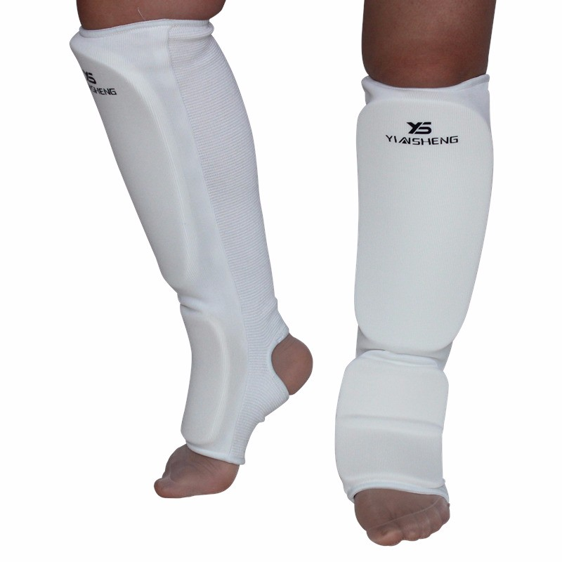 Prix pour Shin Gardes kick boxing protection Sanda taekwondo shin garde de boxe Leggings Cheville protection MMA Muay thai shin protector pads