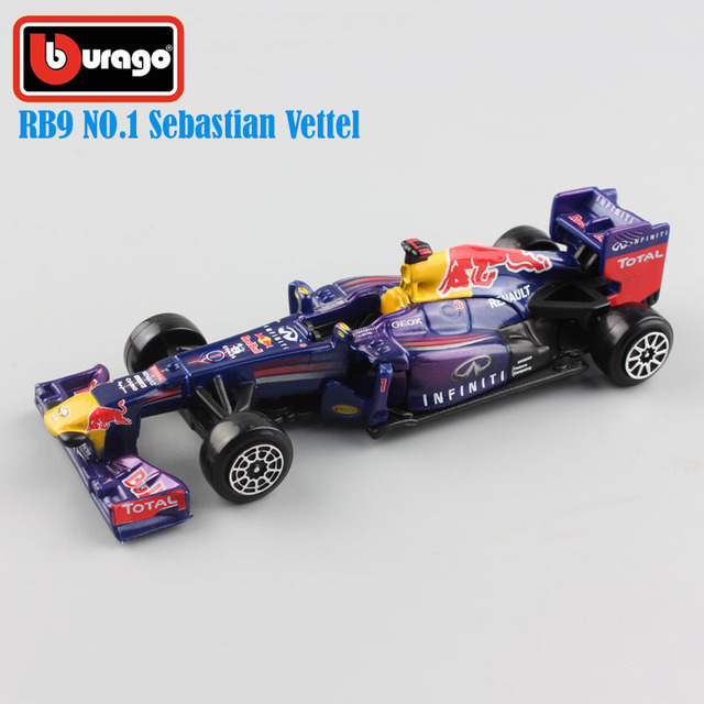 1 43 brand Scale child s metal diecast F1 Infiniti RB9 No.1 Sebastian  Vettel red bull racing cars 2013 Hungry Heidi model toys a983607f79a8d