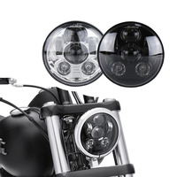 5 3/4 5.75 inch 45W Daymaker Projector led headlight for Harley Sportster forty eight Iron 883 street 500 street 750