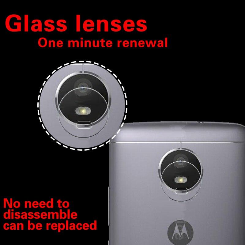 a9607fdac NWT lente de cámara trasera película de vidrio templado para Motorola Moto  E4 película de vidrio para Moto XT1762 XT1772 lente de cámara trasera  película en ...