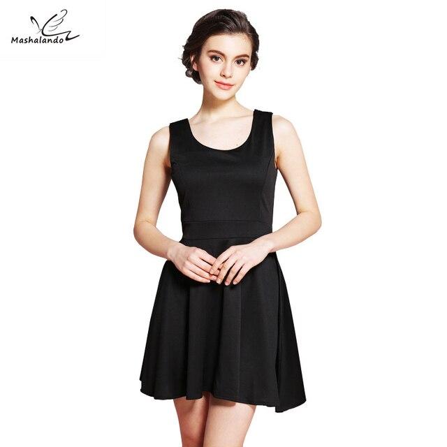 e911ead1bae76 أزياء الربيع الصيف فساتين 2017 الصلبة الأسود فساتين قصيرة Vestidos مودا الملابس  للنساء فستان الشمس خمر
