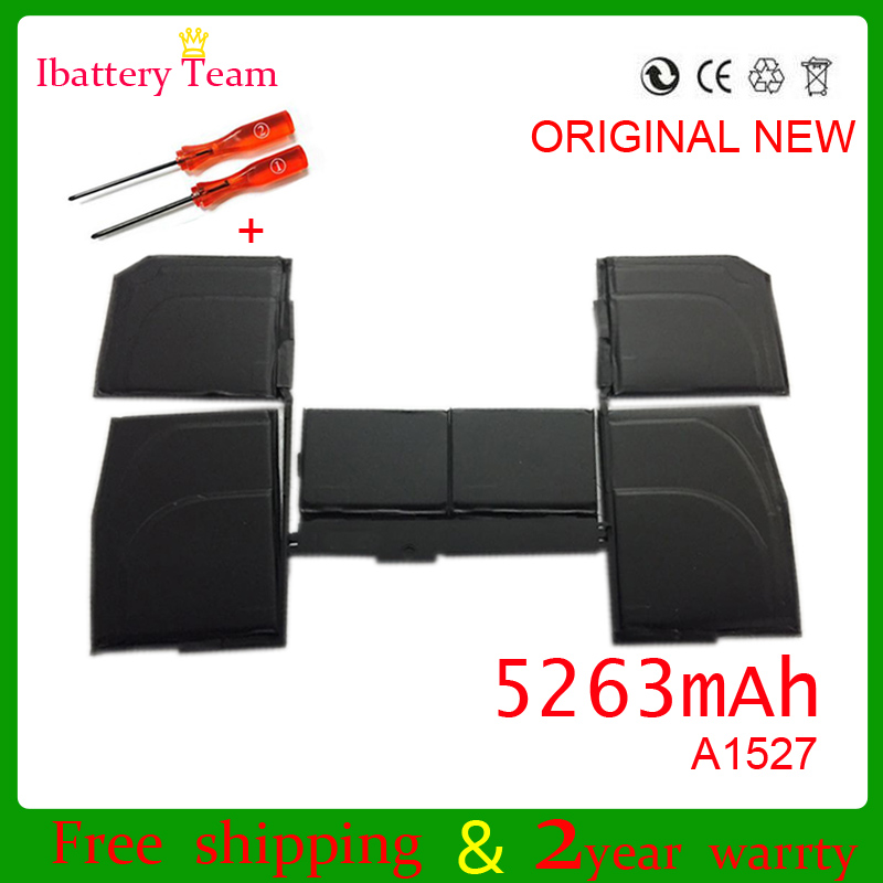 A1527 Battery For Macbook Retina A1534 12 Inch 2015 MF855 MJY32 MK4M2 5263mah 7.55V With Tools
