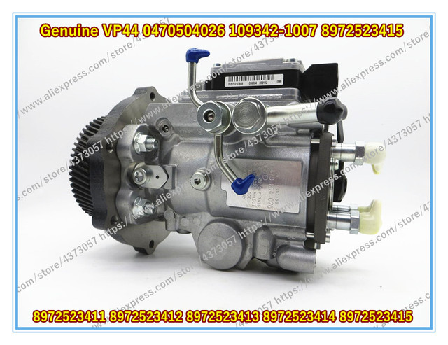 US $1460 0 |Genuine VP44 Fuel Pump 0470504026 109342 1007 for NKR77 and  4JH1 8972523415 8972523411 8972523412 8972523413 8972523414-in Fuel  Injector