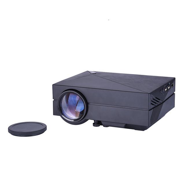 GM60 Mini Portátil Home Cinema Teatro Projector LED Lcd HD 1080 P USB/SD/VGA/HDMI/AV