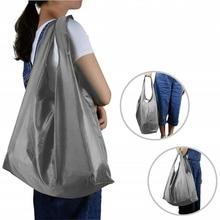 Моющаяся многоразовая сумка для хранения, переносная оксфордская водонепроницаемая сумка для покупок, складная сумка для хранения продуктов, прочная сумка-тоут