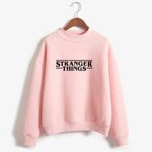 Hoodies Stranger Things Women Hoodie Fleece Harajuku Sweatshirts