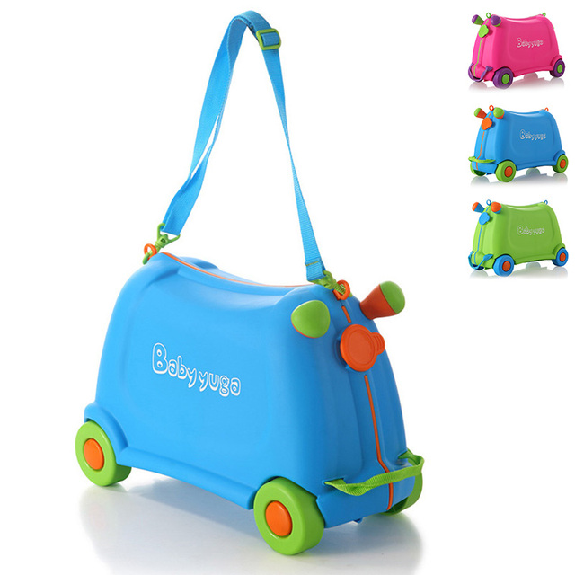Children Travel Luggage Portable Storage Box Suitcase Baby Toys