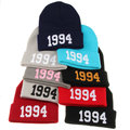 High Quality Hats For Men Women Toucas Wholesale& Retail 1994 Casual Gorro Cap Acrylic Knitted Beanie Pink Black White Red Color