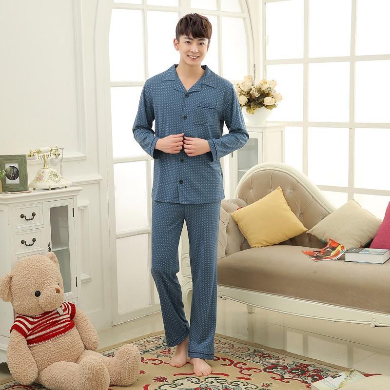 Men\'s Cotton Polyester Pajama Sets RBS-C LYQ1414 33