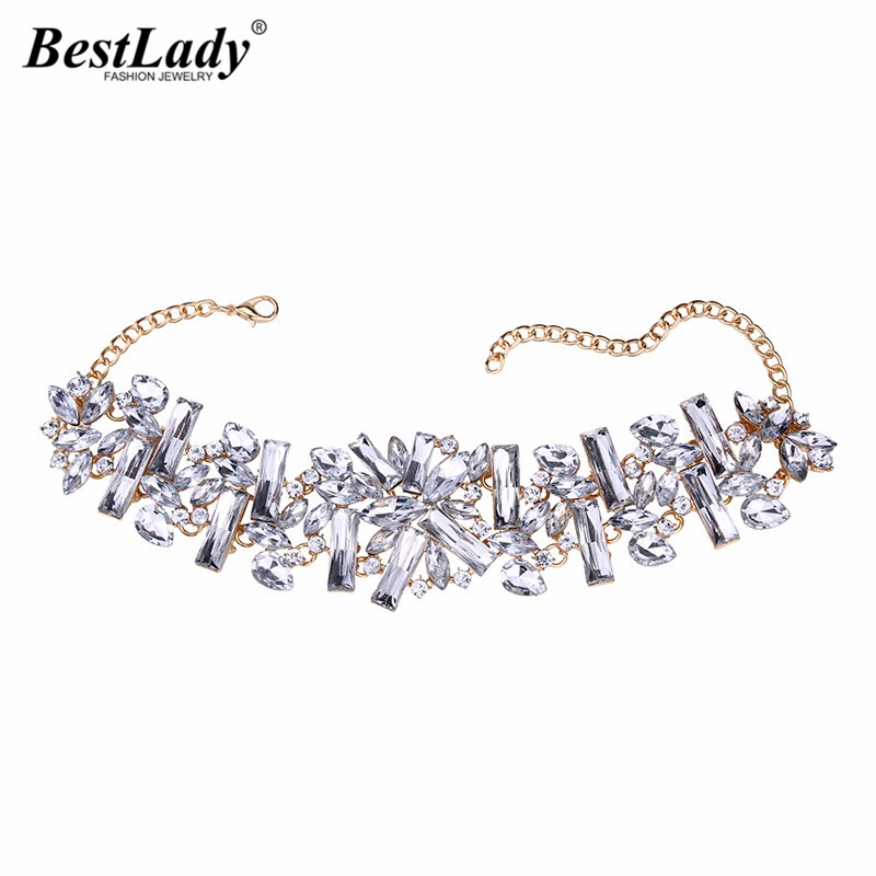 Best lady 2016 New Arrival Big Brand font b Luxury b font HotSale Collar Choker Necklace