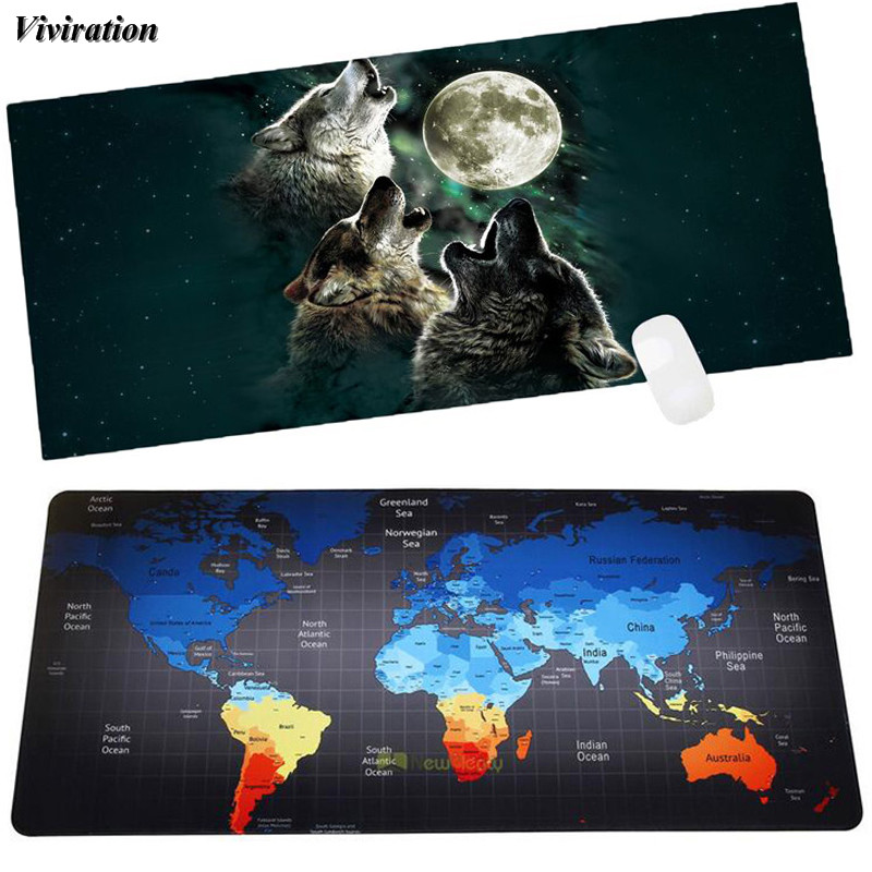 Viviration Rubber Soft Computer Mouse Pad Mat For Dota CSGO Overwatch Gaming Mousepad Top Selling Non-slip Fashion Mouse Mat Pad