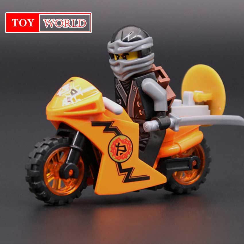 Hot Ninja Zane.Robort Compatible With LegoINGlys Ninjagoes figures Building Blocks Bricks Toys for kids gifts zk5 2018 hot ninjago building blocks toys compatible legoingly ninja master wu nya mini bricks figures for kids gifts free shipping