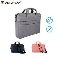 Overfly Laptop Bag Case 13 3 15 6 Inch Shoulder Handbag Computer Bags Waterproof Messenger Notebook