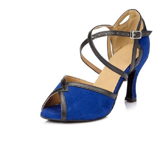 0ca1bf6b Mujeres salón de baile zapatos de baile latino Salsa Zapatos de baile de  Tango Social del