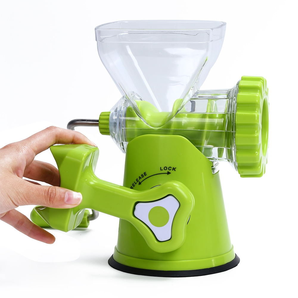 Multipurpose Detachable Manual Meat Mincer Vegetable Grinder Sausage Stuffer Kitchen Tool Baby Food Processor Fruit Meat Grinder manual meat vegetable grinder food grade material stainless steel blade high quality meat mincer rotary machine for kitchen tool