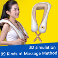 Electrical Back Neck Shoulder Body Massager 3D Kneading Massage Promote Blood Circulation Improve Sleep Health Care Product C757
