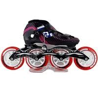 Patines Beruf Inline Skates Rollschuhe Schuhe Eisschnelllauf Schuhe Rollschuhe 4 räder Roller Patins