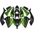 Full Fairings Gloss Green Black Matte For Yamaha XP530 T-MAX TMAX 530 12 13 14 ABS Plastic Injection Motorcycle Fairing Kit New