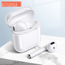 i9s Tws Headphones Wireless Headset Bluetooth Earphone Noise Canceling Headphone With Charging Box, Support Binaural Microphone tws earbuds true mini wireless earphone bluetooth headphone with charging box as powerbank noise cancel headset airpods style