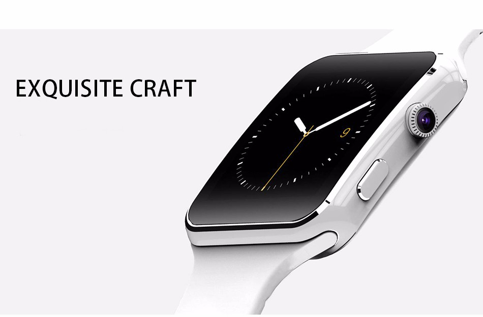 Fashion Black Sport Bluetooth Smart Watch For Android IOS Phone Call SIM Card Intelligent Watches 1.54\'\' HD LCD OGS Touch Screen (13)
