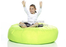 Green bean bag chair — outdoor beanbag recliner, living room home furniture sofa seat
